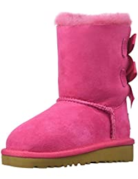 UGG Kids Girl's Bailey Bow (Toddler/Little Kid) Cerise Boot 7 Toddler M