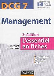 Management DCG 7 - 3e édition - L'essentiel en fiches