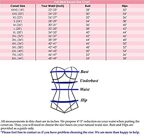 luvsecretlingerie Heavy Duty 24 Double Steel Boned Waist Training Satin Overbust Tight Shaper Corset #8399-SA