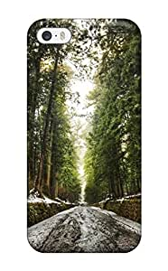 Awesome ZbypfWY1196QLdQM Craigmmons Defender Tpu Hard Case Cover For Iphone 5/5s- Old Forest After Snow Melt Digital