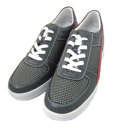 Calden-K9080-6,6cm Grande Taille-Hauteur Augmenter Chaussures-gris-Femme