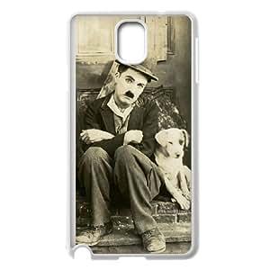 Charlie Chaplin Vintage Samsung Galaxy Note 3 Cell Phone Case White qndx