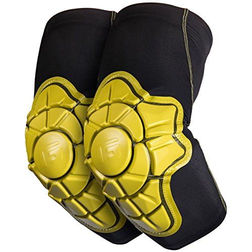 G-Form Youth Pro-X Elbow Pad, Yellow, Large/X-Large by G-Form