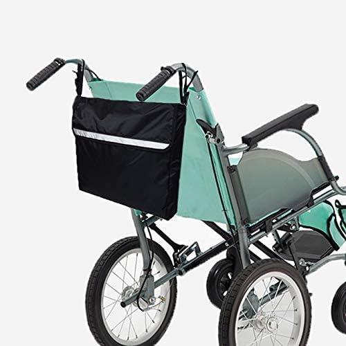KAD Mochila para silla de ruedas: la bolsa de viaje universal se adapta a la mayoría de los scooters y andadores; Rollators - para llevar accesorios Transporte