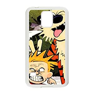 Naughty tiger and boy Cell High Quality Phone Case for Samsung Galaxy S5