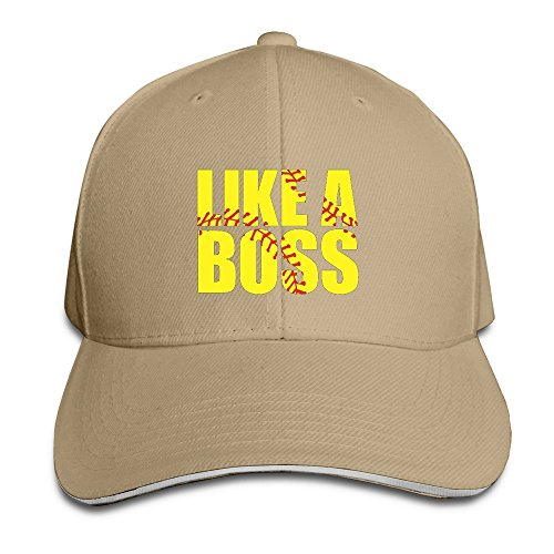 Peak Softball Like A Boss Sandwich Caps For Man