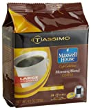 tassimo 12 oz - Maxwell House Cafe Collection Morning Blend Coffee (Medium, 12-Ounce Servings), 14-Count T-Discs for Tassimo Coffeemakers (Pack of 2)