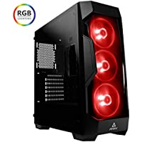 Centaurus Polaris 5 RGB Custom Gaming Computer - Intel i7-8700K Quad Core 4.7GHz, 16GB DDR4 RAM, 2x Nvidia GTX 1080 SLI, 480GB SSD + 2TB HDD, 240mm Liquid Cooler, Windows 10