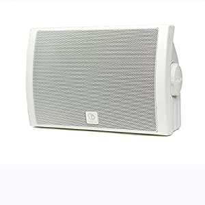 boston acoustics voyager voyametrow dual voice coil outdoor speaker white home. Black Bedroom Furniture Sets. Home Design Ideas