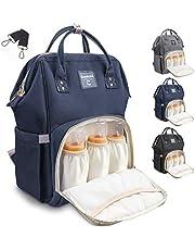 Conleke Diaper Bag Backpack for Baby Care, Multi-Functional Waterproof Backpack