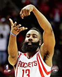 #4: James Harden Houston Rockets NBA Action Photo