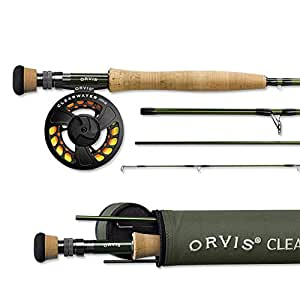 Orvis Clearwater Fly Rod - 4 Piece 4 Weight (Handle A), 8ft 6in