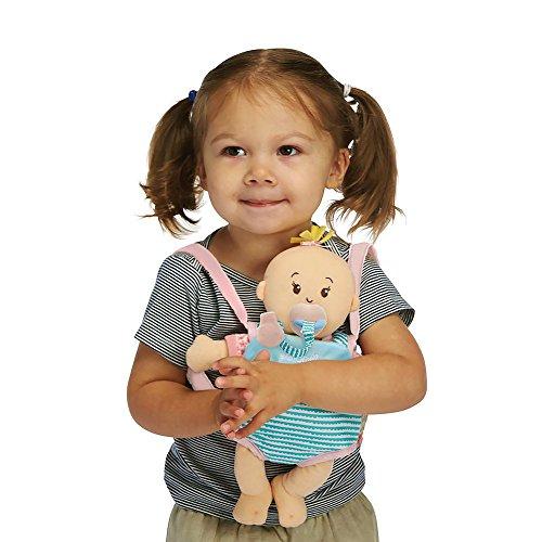 """51UNWRXzLhL - Manhattan Toy Wee Baby Stella Peach 12"""" Soft Baby Doll"""