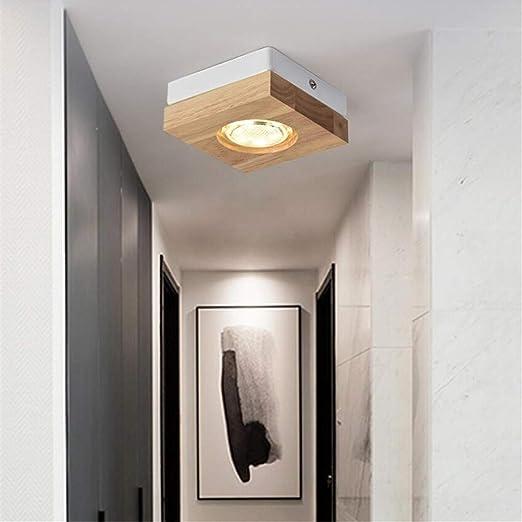 Amazon.com: ZM3 - Lámpara de techo con luces LED cuadradas ...