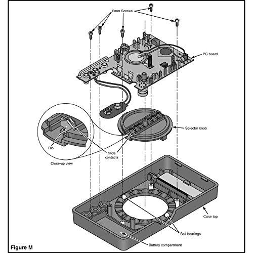 Elenco M-1008K - Digital Multimeter Solder Kit | Lead Free Solder | Great STEM Project | Soldering Required by Elenco (Image #7)