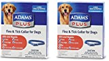 (2 Pack) Flea & Tick Collar for Dogs, Size Large