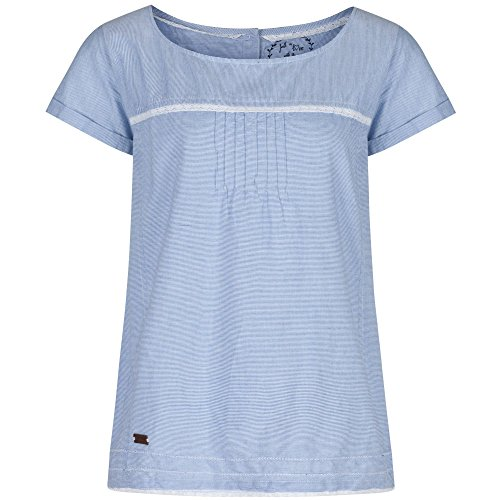 Regatta Great Outdoors - Camiseta de manga corta modelo Feronia para mujer Ticking Stripe