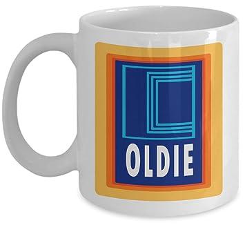 Oldie Aldi Funny Birthday Retirement Novelty Gift Mug By