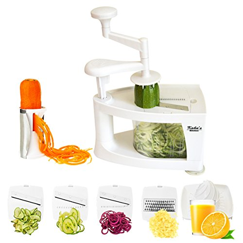 Very easy to assemble and to use. Makes your veggies look very nice.