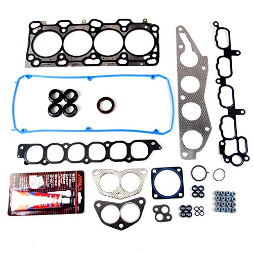SCITOO Replacement for Head Gasket Set HS26235PT fit Mitsubishi Eclipse Galant 2.4L L4 2004-2011 Engine Valve Cover Gaskets Kit Set
