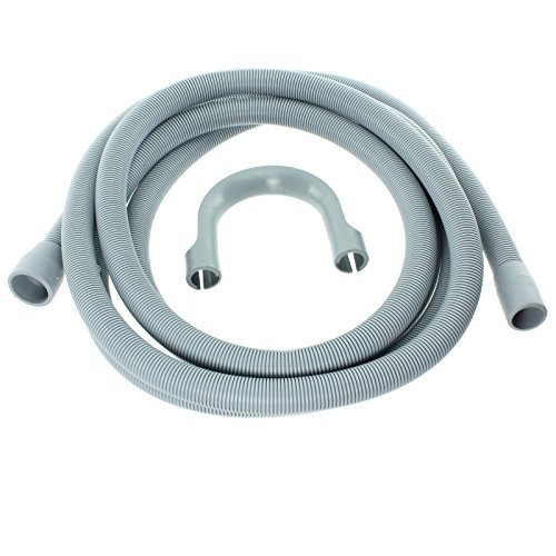Spares2go Extra Long Water Pipe Outlet Hose For Zanussi