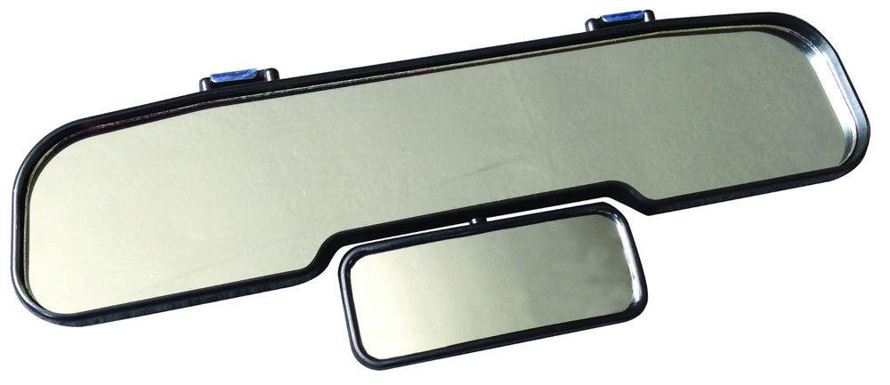 Interior Extension Convex Panoramic Car Rear View Mirror Double Safer Driving AutoPower