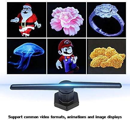 Tonysa Proyector holográfico 3D LED WiFi Efecto Visual 3D 384pcs ...