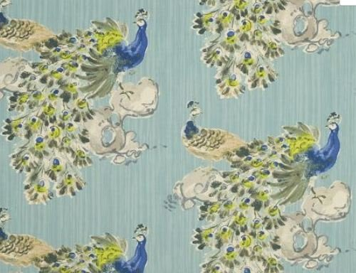 upholstery fabric peacock - 7