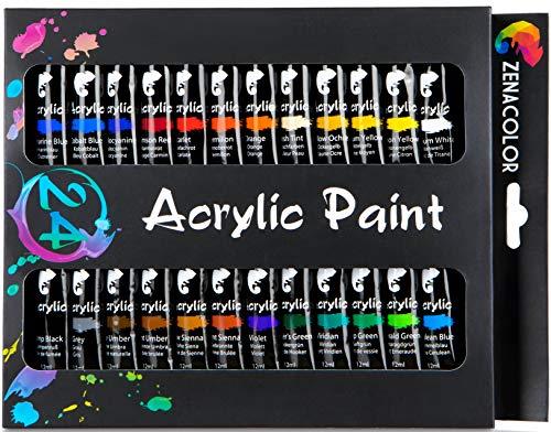 Zenacolor Acrylic Paint Set