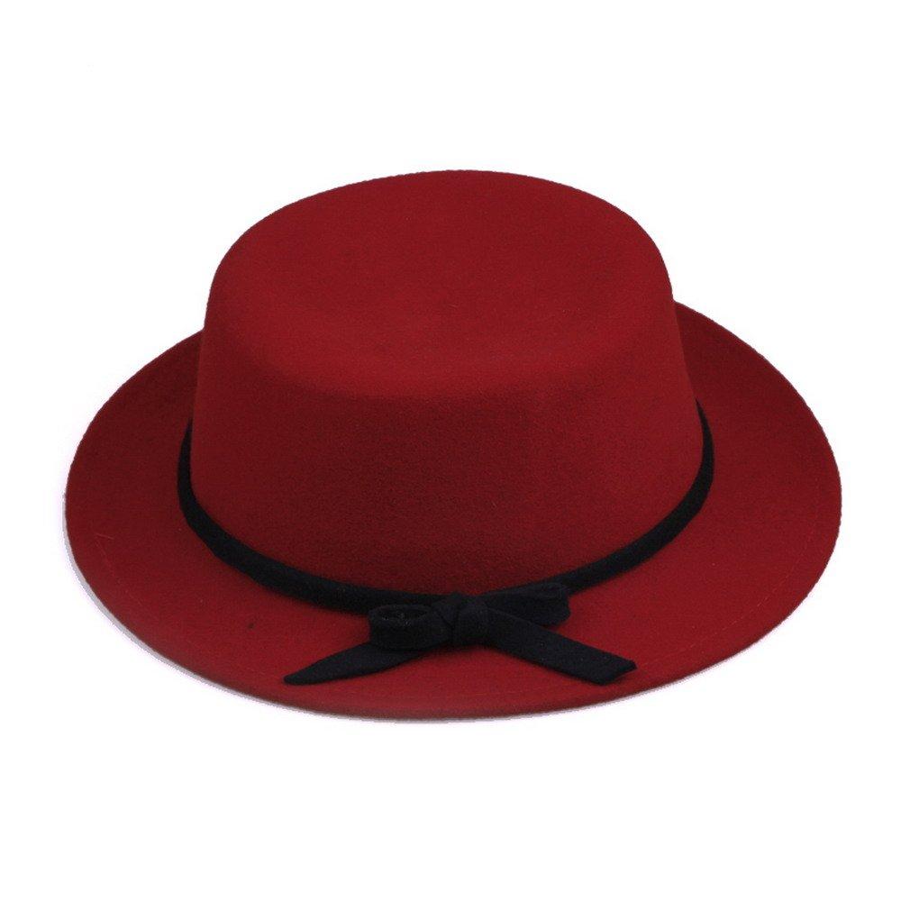 YL Women Solid Color Heisenberg Pork Pie Hat 5 Colours