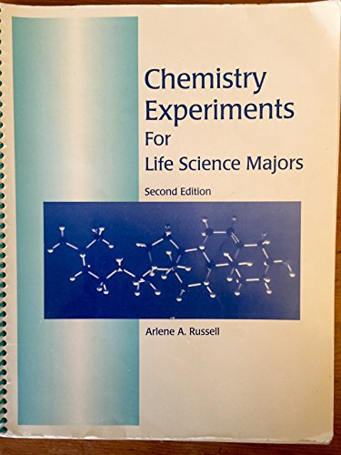 Chemistry Experiments for Life Science Majors]()