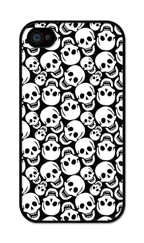 iZERCASE Smiley Face Skulls iphone 4, iphone 4S case - Fits iphone 4/4S T-Mobile, AT&T, Sprint, Verizon and International ()