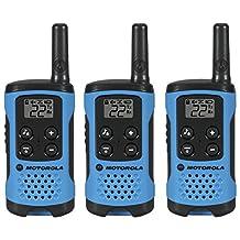 Motorola T100 Talkabout Radio, 3-Pack