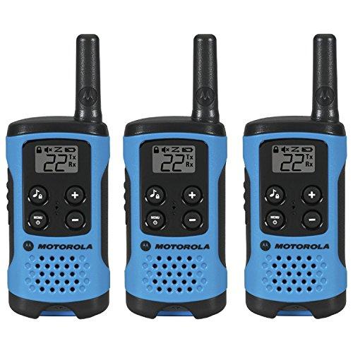 RADIO MOTOROLA T100TP TALKABOUT, PAQUETE DE 3