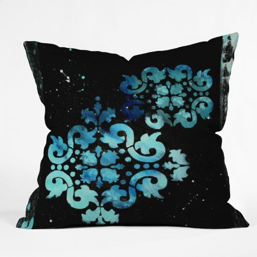 Deny Designs Madart Modern Dance Mysterious Throw Pillow, 26-Inch by 26-Inch by Deny Designs