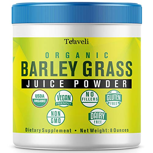 - Premium Organic Barley Grass Juice Powder- Delicious Green Superfood & Powerful Barley Grass Juice Extract- 8 Ounces of Non-GMO Utah Grown Barley Grass Powder- Perfect Enzymes & Chlorophyll Supplement