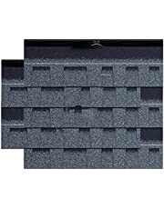 Felt Shingles Shed Roofing Tiles for 2.32m² Roof Area Outdoor Garden Sheds Slates for Covering Garden Houses Tool Villa Wooden House (Color : G)
