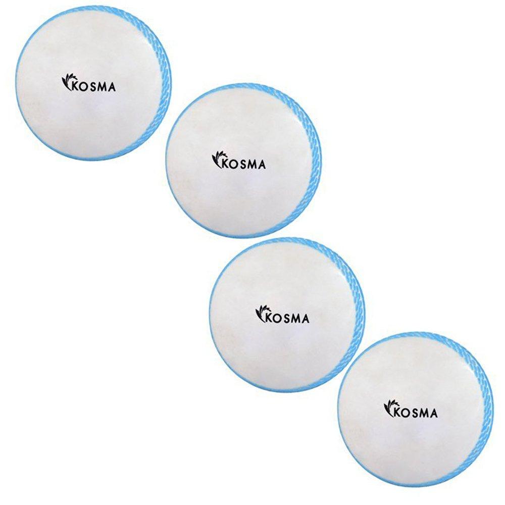 Kosma Wind Balle de cricket Balles | Plastique Souple Ballon d'entraînement intérieur/extérieur | Practise Boule Montstar Global