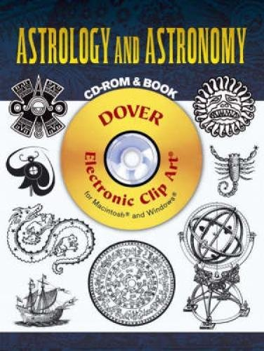 - Astrology and Astronomy CD-ROM and Book (Dover Electronic Clip Art)
