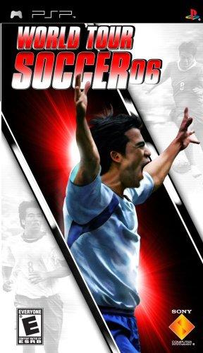 World Tour Soccer 06 - Sony PSP (World Class Ball Soccer)