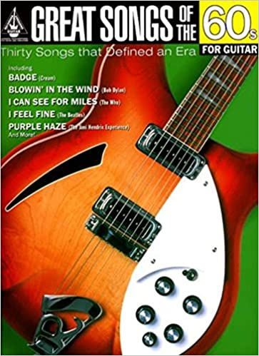 Read Great Songs of the 60s for Guitar (Great Songs of) PDF