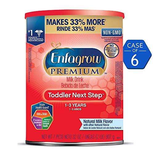 专为1-3岁幼儿设计,Enfagrow美赞臣三段奶粉共6罐