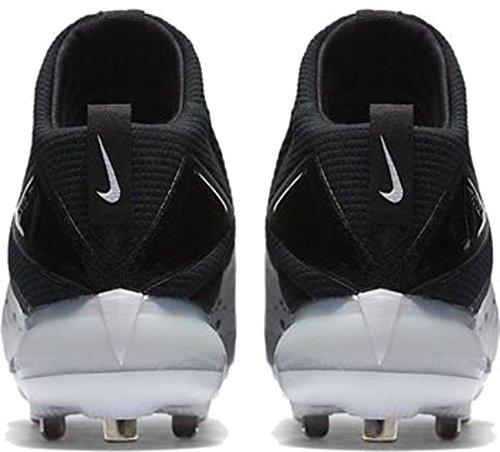 Nike Mens Force Zoom Trota 3 Tacchetti Da Baseball Mid Metal Lupo Grigio / Nero-multi-colore