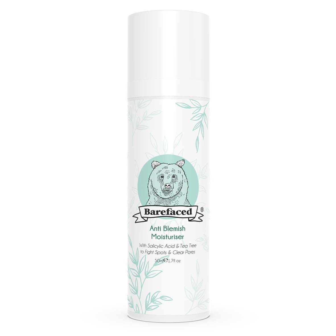 BeBarefaced Anti Blemish Moisturiser With Tea Tree Oil & Salicylic Acid BeBarefaced Ltd.