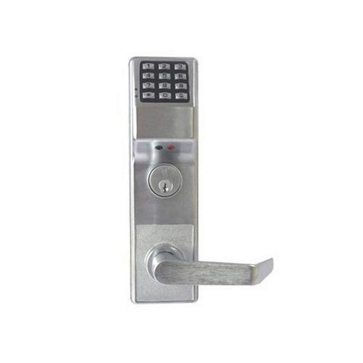 Alarm Lock Systems Inc. ETDLS1G 26DV99 Trilogy T3 Exit Trim V99 26D, Satin Chrome