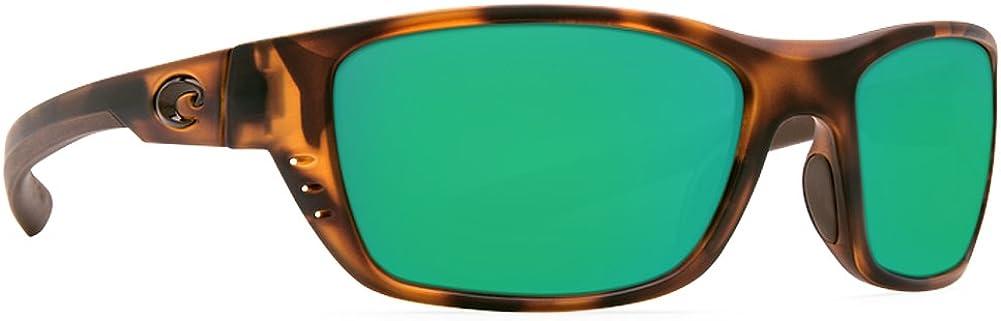 Costa Del Mar mens Whitetip Rectangular Sunglasses