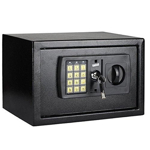 Mutiwill Electronic Home Safe Box Digital Money Safe Key Box 8.5 Litre Large