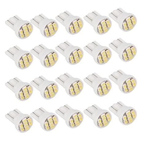 20X T10 W5W 168 194 8 SMD LED Ampoule Feux Lumiè re Blanc Pour Voiture Sunluxy Mall