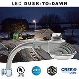 LED Dusk to Dawn Light - Brightest on Amazon - 70 Watt - 7000 Lumens - Perfect for use as an LED Yard Light, LED Barn Light or LED Security Light