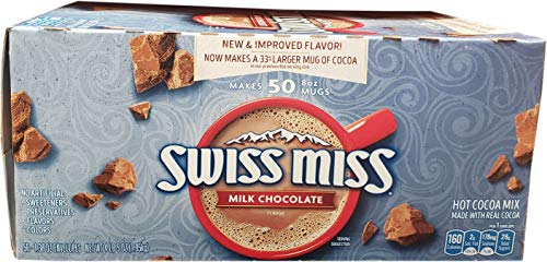 Swiss Miss Milk Chocolate Hot Cocoa Mix Packets - 50 ct